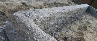 бетон после дождя