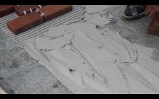 Клей для тротуарной плитки на бетонное основание