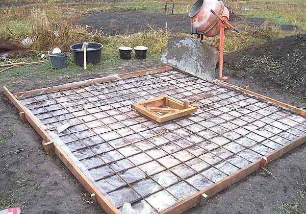 Залить яму бетоном порталы бетон