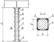 Усиление железобетонных колонн стальными обоймами