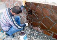 Покрасить бетонную смесь арматура внутри бетона