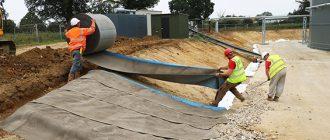 Рулонный бетон производство заливка теплого пола керамзитобетоном