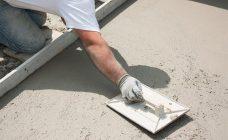 Железнение бетона цементом своими руками