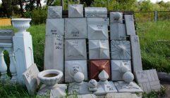 Купить колпаки на столбы забора из бетона купить бетон для молока 3 литра